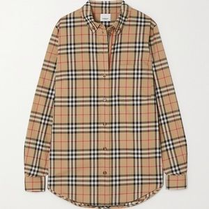 Burberry Vintage Check Classic Fit Shirt